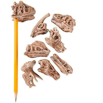 Dinosaur Fossil Pencil Topper