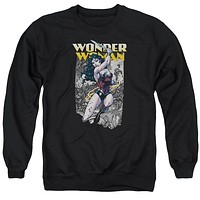 Wonder Woman Wonder Slice Sweatshirt