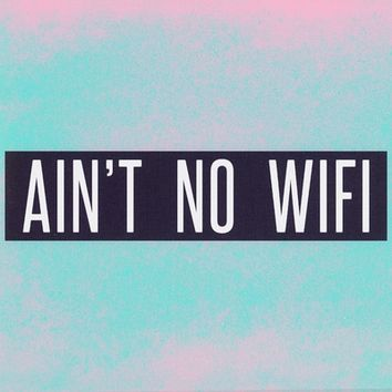 Ain't No Wifi Art Print by Marvin Fly | Society6