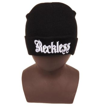 One-nice™ Perfect Hip Hop Letter Women Men Embroidery Beanies Winter Knit Hat Cap