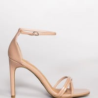 Timeless Heels - Nude Patent