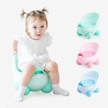 Baby Toilet Seat Cute Egg Travel Children's Pot Toilet  Portable Training Boy Girls Child Potty Children's Toilet Baby Potty