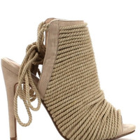 Roped Strappy Sandals