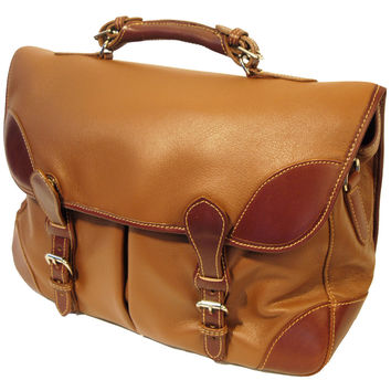 Deerskin Angler's Bag - Tan