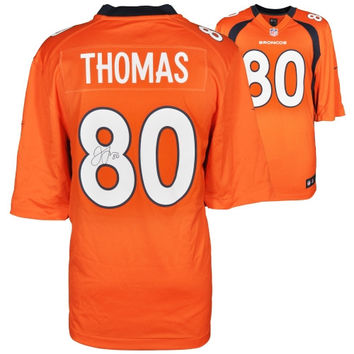 Julius Thomas Denver Broncos Autographed Nike Replica Orange Jersey - http://www.shareasale.com/m-pr.cfm?merchantID=7124&userID=1042934&productID=540320706 / Denver Broncos