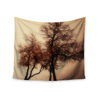 "Sylvia Coomes ""Rust Trees"" Photography Nature Wall Tapestry"