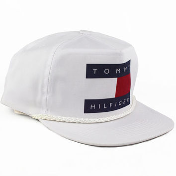 a2d734843800e Vintage Tommy Hilfiger Snapback hat from AgoraSnapbacks on Etsy
