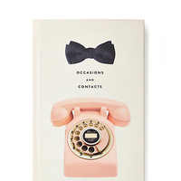 Kate Spade Occasion And Contacts Address Book White ONE