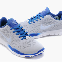 """NIKE"" Women's Trending Fashion Casual Gray Blue Sports Shoes"