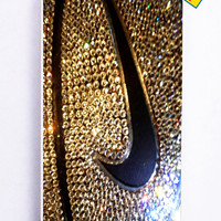 Nike Glitter Logo for Iphone 5C Cover Rubber Case