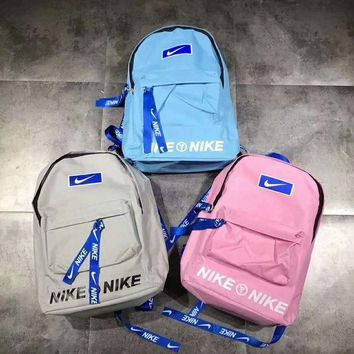 DCCKFC8 Nike' Fashion Sport School Shoulder Bag Travel Bag Laptop Backpack