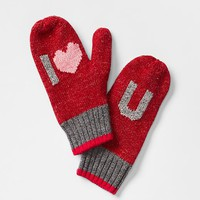 Gap Girls Friendship Icon Mittens