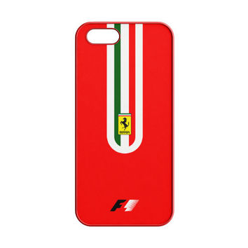 Fernando Alonso F1 Ferrari Scuderia Team iPhone 5 | 5S Case