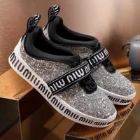 Miu Miu Women Fashion Casual Sneakers Sport Shoes