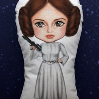 Star Wars Princess Leia pillow doll