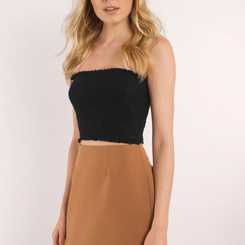 Celise Curved Hem Mini Skirt
