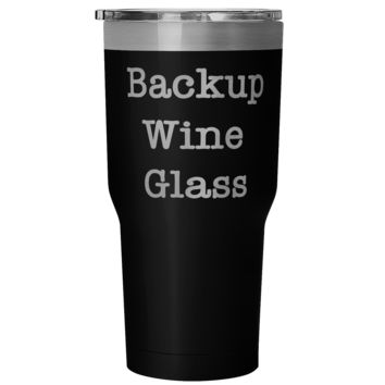 Backup Wine Glass Rambler