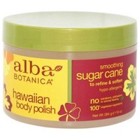 Alba Botanica, Body Polish Sugar Cane, 10 OZ (Pack of 1) - Walmart.com