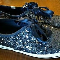 Kate Spade New York Ked's Women's Champion Glitter Shoes Size 6.5