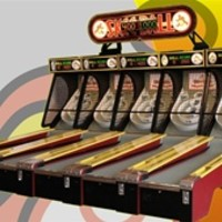 Skee-Ball Classic Alley 10' Game | Lowest Price Guarenteed