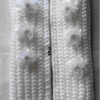 "Seat Belt ""Comfies""..For The Bride  To Be..Handmade/Hand Crocheted..Double thick 2 1/2""x14""..Hand Made Seat Belt Covers"