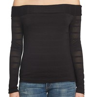 1.State | Off-the-Shoulder Shirt | HauteLook