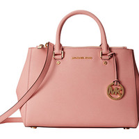 MICHAEL Michael Kors Sutton Medium Satchel Pale Pink - Zappos.com Free Shipping BOTH Ways