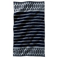 Lux Velour Stripe Medallion Beach Towel