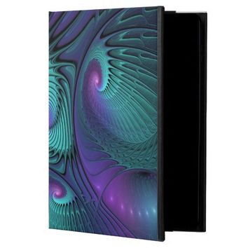 Purple meets Turquoise, abstract Fractal Art Powis iPad Air 2 Case