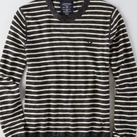 AEO Men's Striped Crew Sweater