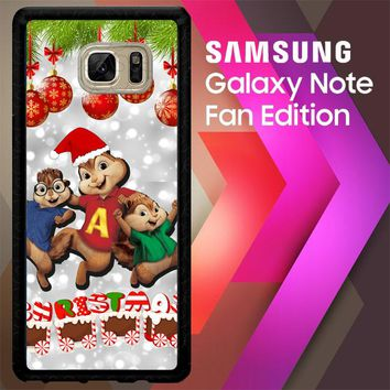 Alvin And The Chipmunks And The Chipettes D0268 Samsung Galaxy Note FE Fan Edition Case