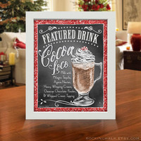 """Personalized Signature Drink Signs 