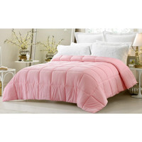 Super Oversized- Pink Down Alternative Comforter in King Size