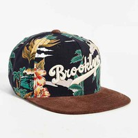 American Needle Haven Brooklyn Strapback Hat- Black Multi One