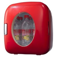 Sakar Red Portable 12-can Mini Fridge