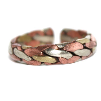 Medicinal Adjustable copper ring