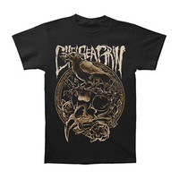Chelsea Grin Men's  Crow T-shirt Black Rockabilia