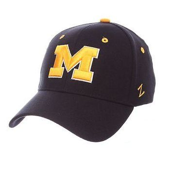 pretty nice 3a1b6 8fc73 Licensed Michigan Wolverines Official NCAA ZH Small Hat Cap by Z