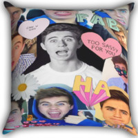 Nash Grier Collage Zippered Pillows  Covers 16x16, 18x18, 20x20 Inches