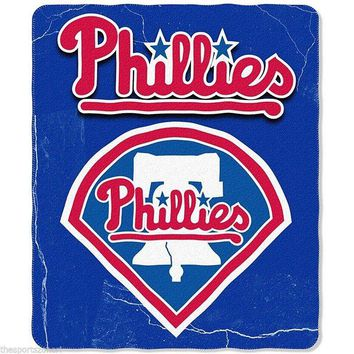 "Philadelphia Phillies 50"" x 60"" Fleece Blanket"
