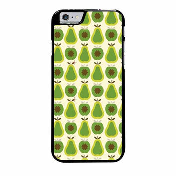 orla kiely apples and pears iphone 6 plus 6s plus 4 4s 5 5s 5c cases