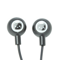 Black Cat Earbuds