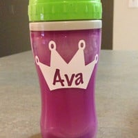 Personalized or Monogram Child's Sippy Cup