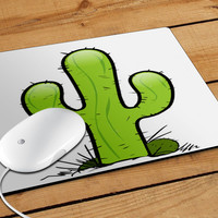 Cactus Cup Mousepad | Aneend