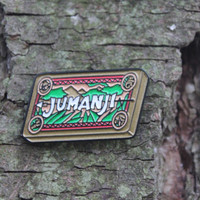 Jumanji Board Game Enamel Pin