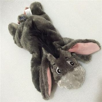 Original Big Eeyore Donkey Lying Style Cute Soft Stuff Animal Plush Toy Doll Birthday Children Gift Collection