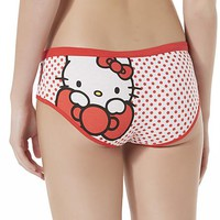 Sanrio Women's Hello Kitty Hipster Panties - Dots