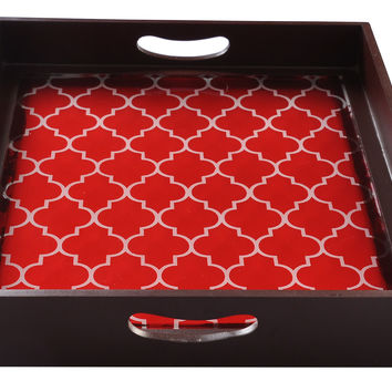 Moroccan Square Tray, Serving Trays