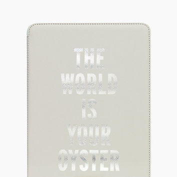 Kate Spade The World Is Your Oyster Ipad Air Hardcase Nisbet Blue ONE