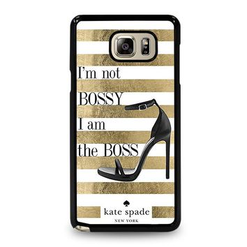 KATE SPADE THE BOSS Samsung Galaxy Note 5 Case Cover